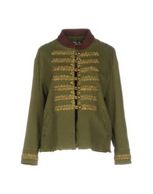 Пиджак BAZAR DELUXE. Цвет: зеленый-милитари
