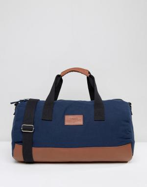 Dead Vintage Темно-синяя сумка дафл. Цвет: синий