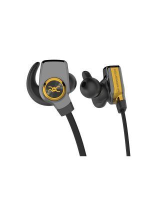 Наушники с микрофоном Monster ROC Sport SuperSlim Wireless In-Ear. Цвет: черный