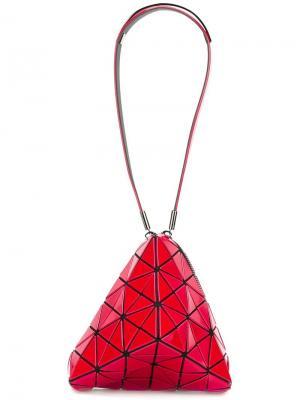 Сумка на плечо Prism Bao Issey Miyake. Цвет: красный
