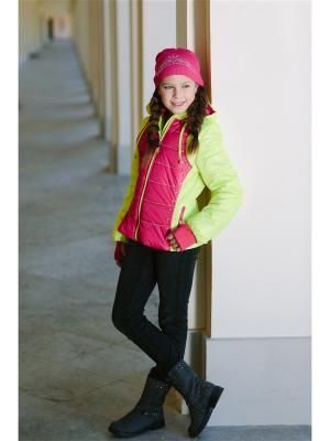 Куртка DUWALI. Цвет: желтый