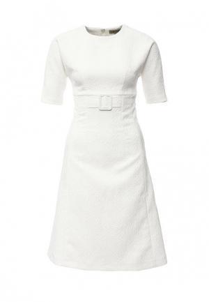Платье Devore. Цвет: белый