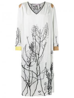 Bead embroidered dress Isabela Capeto. Цвет: белый