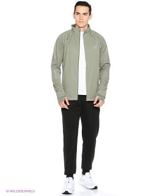 Куртка LITE-SHOW WINTER JACKET ASICS. Цвет: серый
