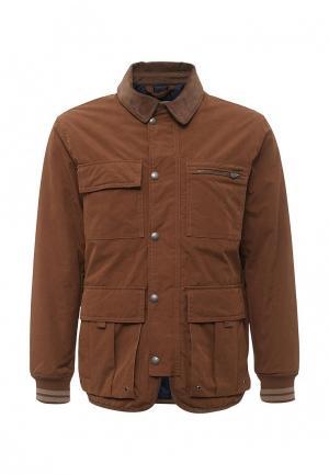Куртка утепленная Mango Man. Цвет: коричневый