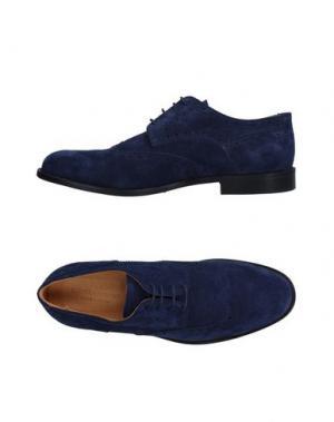 Обувь на шнурках DANIELA FARGION. Цвет: синий