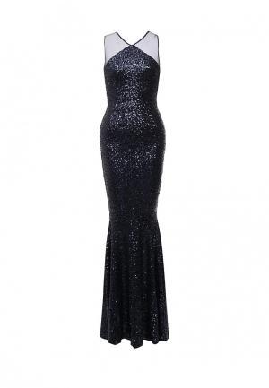 Платье Goddiva. Цвет: синий