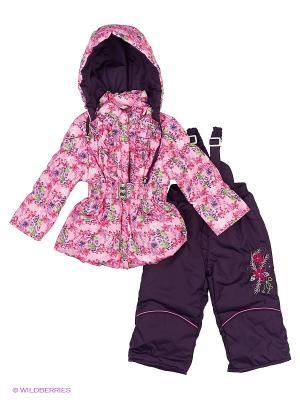 Комплект для девочки демисезонный Rusland. Цвет: розовый