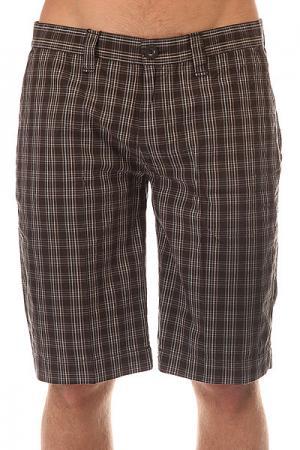 Шорты классические  Checked Shorts Original Urban Classics. Цвет: серый,черный