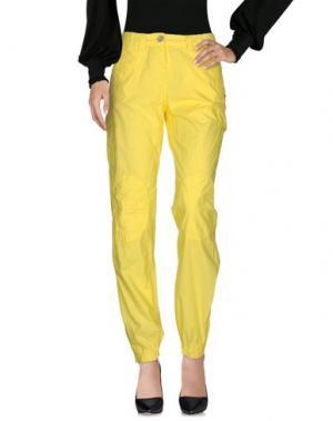 Повседневные брюки MURPHY & NYE. Цвет: желтый