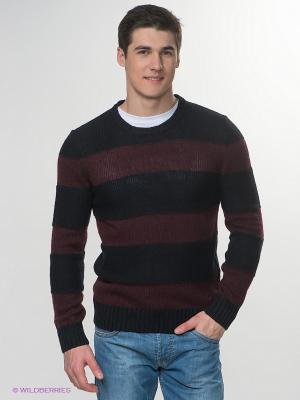 Джемпер Jeanswest. Цвет: темно-синий, бордовый