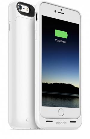 Чехол-аккумулятор Juice Pack Plus для iPhone 6/6s на 3300 mAh Mophie. Цвет: белый