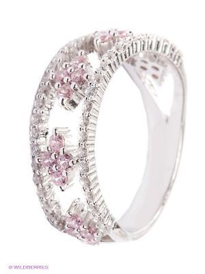 Кольцо APM Monaco. Цвет: серебристый, розовый