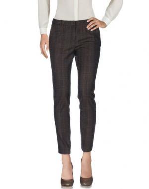 Повседневные брюки KILTIE. Цвет: темно-коричневый