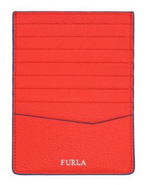 Чехол для документов FURLA. Цвет: красный