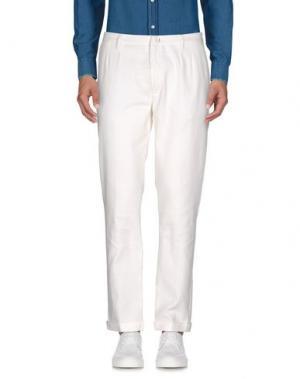 Повседневные брюки JEORDIE'S. Цвет: белый