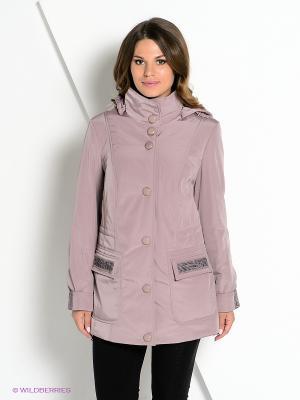 Куртка DizzyWay. Цвет: лиловый