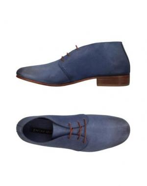 Обувь на шнурках MANILA GRACE. Цвет: грифельно-синий
