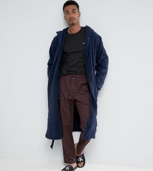 Calvin Klein Пижама с сумкой для хранения. Цвет: черный