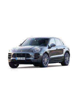 Машина Porsche Macan металл 1:24 ВВ Bburago. Цвет: черный