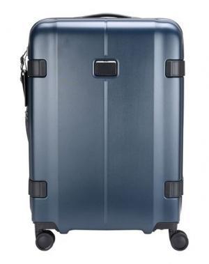 Чемодан/сумка на колесиках TUMI. Цвет: цвет морской волны