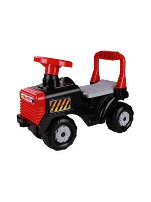 Машинка Трактор (Чёрный) Альтернатива. Цвет: черный, красный