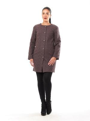 Пальто Best&Best. Цвет: коричневый
