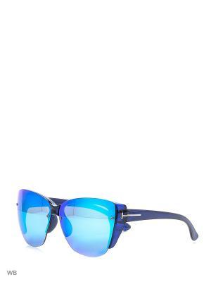 Солнцезащитные очки Vittorio Richi. Цвет: синий, голубой