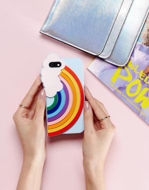 BAN DO Чехол для iPhone 6/6S/7 с радугой Ban.Do. Цвет: мульти