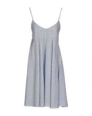 Короткое платье MARIUCCIA. Цвет: белый