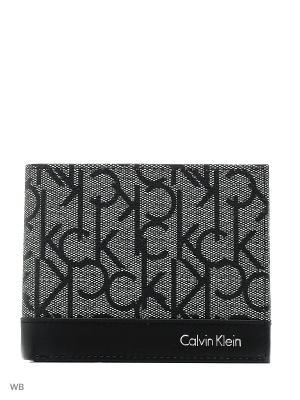 Кошелек Calvin Klein. Цвет: антрацитовый
