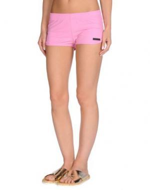 Пляжные брюки и шорты RRD. Цвет: розовый