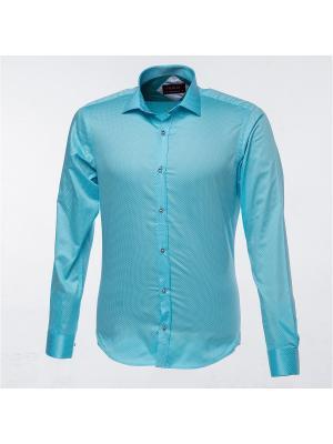 Рубашка BIRIZ. Цвет: бирюзовый