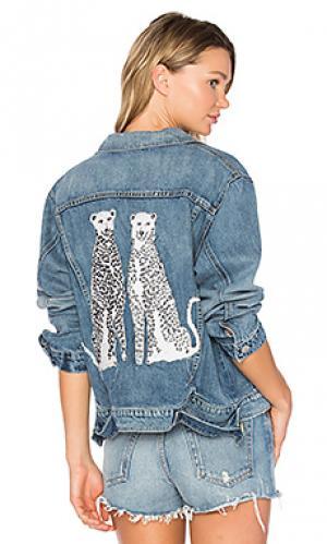 Куртка vintage barthelemy MCGUIRE. Цвет: none