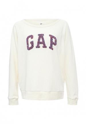 Свитшот Gap. Цвет: белый