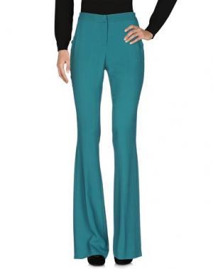 Повседневные брюки KI6? WHO ARE YOU?. Цвет: зеленый