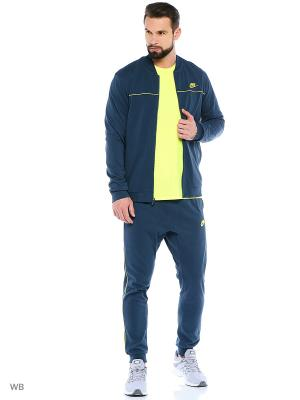 Спортивный костюм M NSW TRK SUIT JSY CLUB Nike. Цвет: синий, желтый