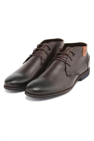 Ботинки Zumita. Цвет: коричневый