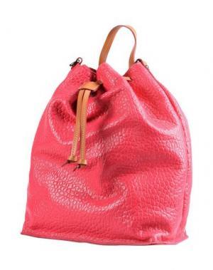 Рюкзаки и сумки на пояс LOMBARDI. Цвет: фуксия