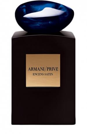 Парфюмерная вода Encens Satin Giorgio Armani. Цвет: бесцветный