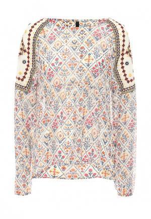 Блуза Pepe Jeans. Цвет: бежевый
