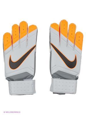 Перчатки NIKE GK MATCH. Цвет: серый, оранжевый