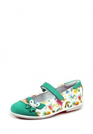 Туфли Elegami. Цвет: разноцветный