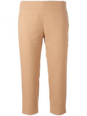 Укороченные брюки Gianluca Capannolo. Цвет: телесный