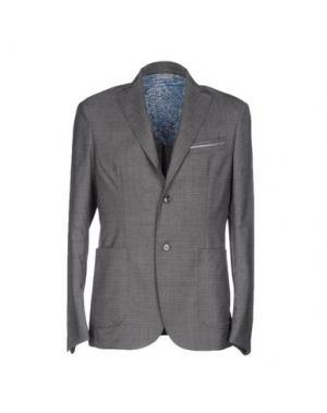Пиджак HARRY & SONS. Цвет: серый