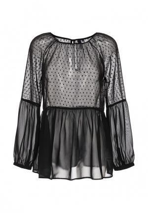 Блуза s.Oliver Denim. Цвет: черный
