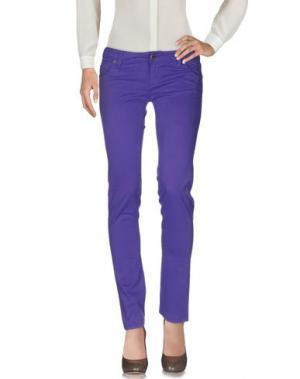 Повседневные брюки JFOUR. Цвет: фиолетовый