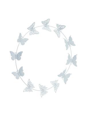 Настенный декор Butterfly Gardman. Цвет: серый