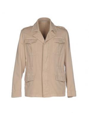 Куртка ANGELO NARDELLI. Цвет: бежевый