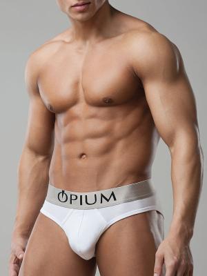 Трусы OPIUM. Цвет: белый